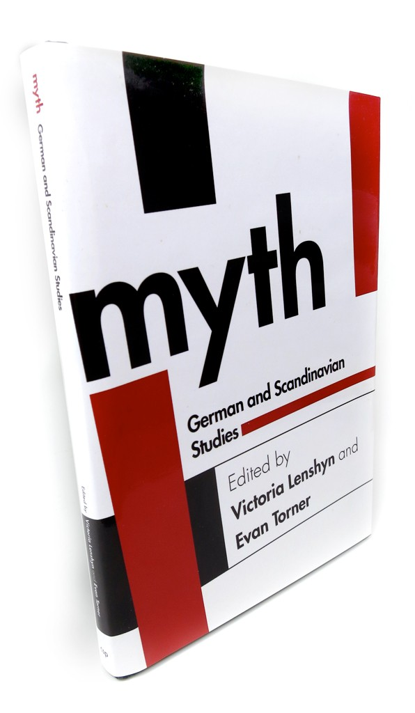 Myth was a conference about myths — particularly modern ones — in German and Scandinavian culture. When Victoria and Evan approached me for this cover, they wanted something non-obvious, and the Bauhaus, with its ambivalent relationship with the culture and undeniable mark on the aesthetics of the 20th century seemed like a good direction.